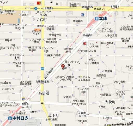 中村生涯学習センター地図